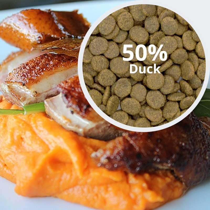 Behavioural Balance: Duck, Sweet Potato and Orange