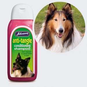 anti tangle dog shampoo
